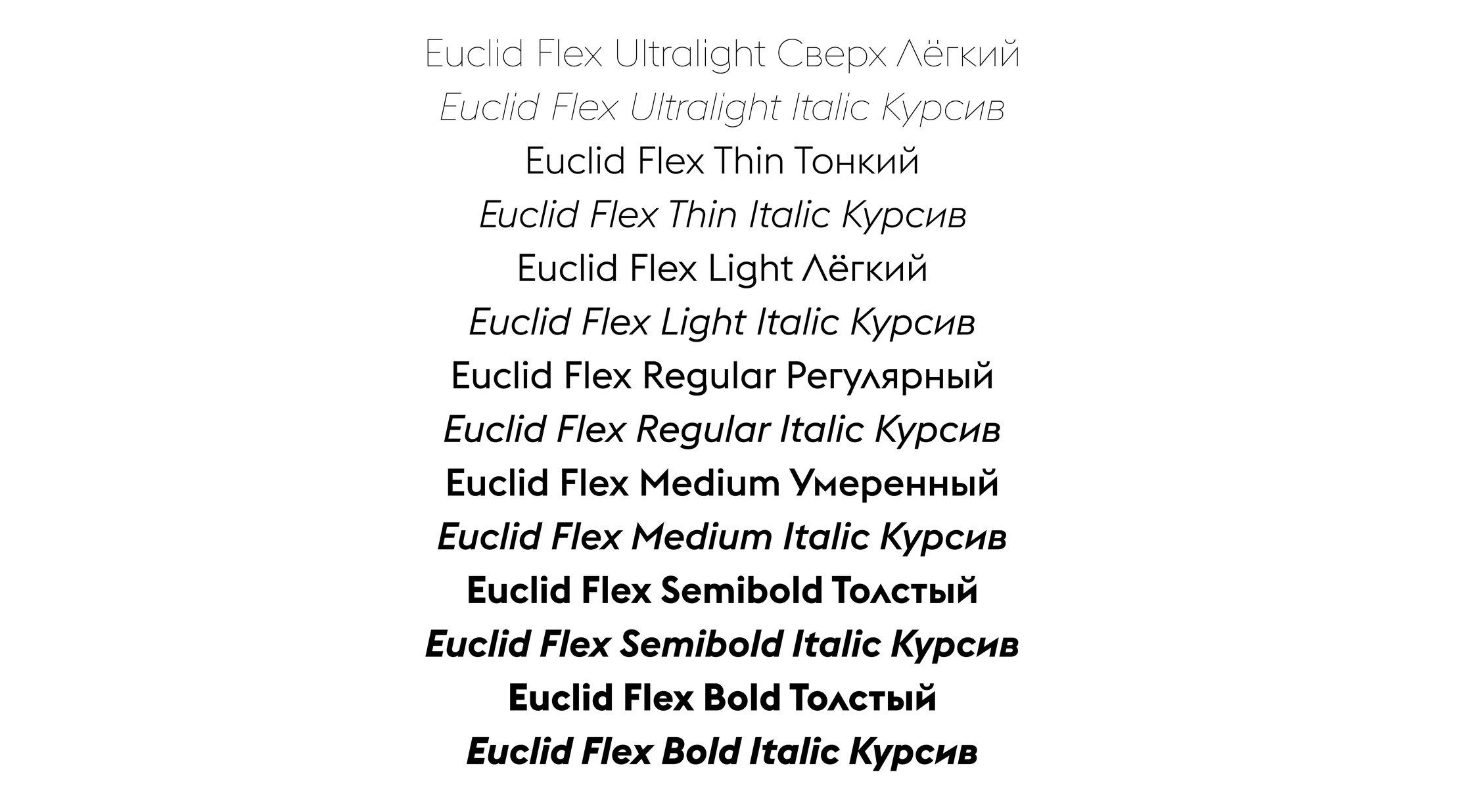 Euclid - Swiss Typefaces