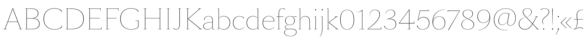 SangBleu Serif Hairline