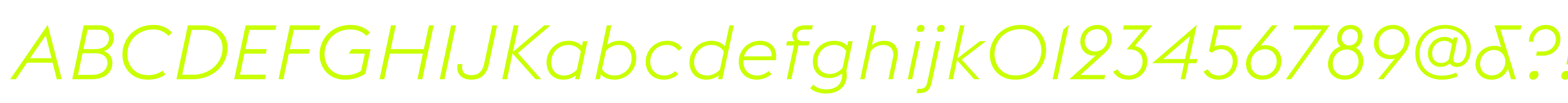 Euclid Flex Light Italic