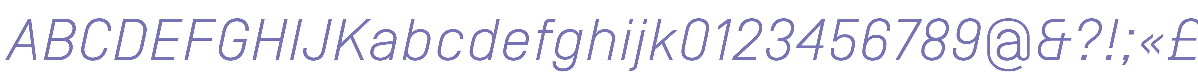 Simplon Norm Light Italic