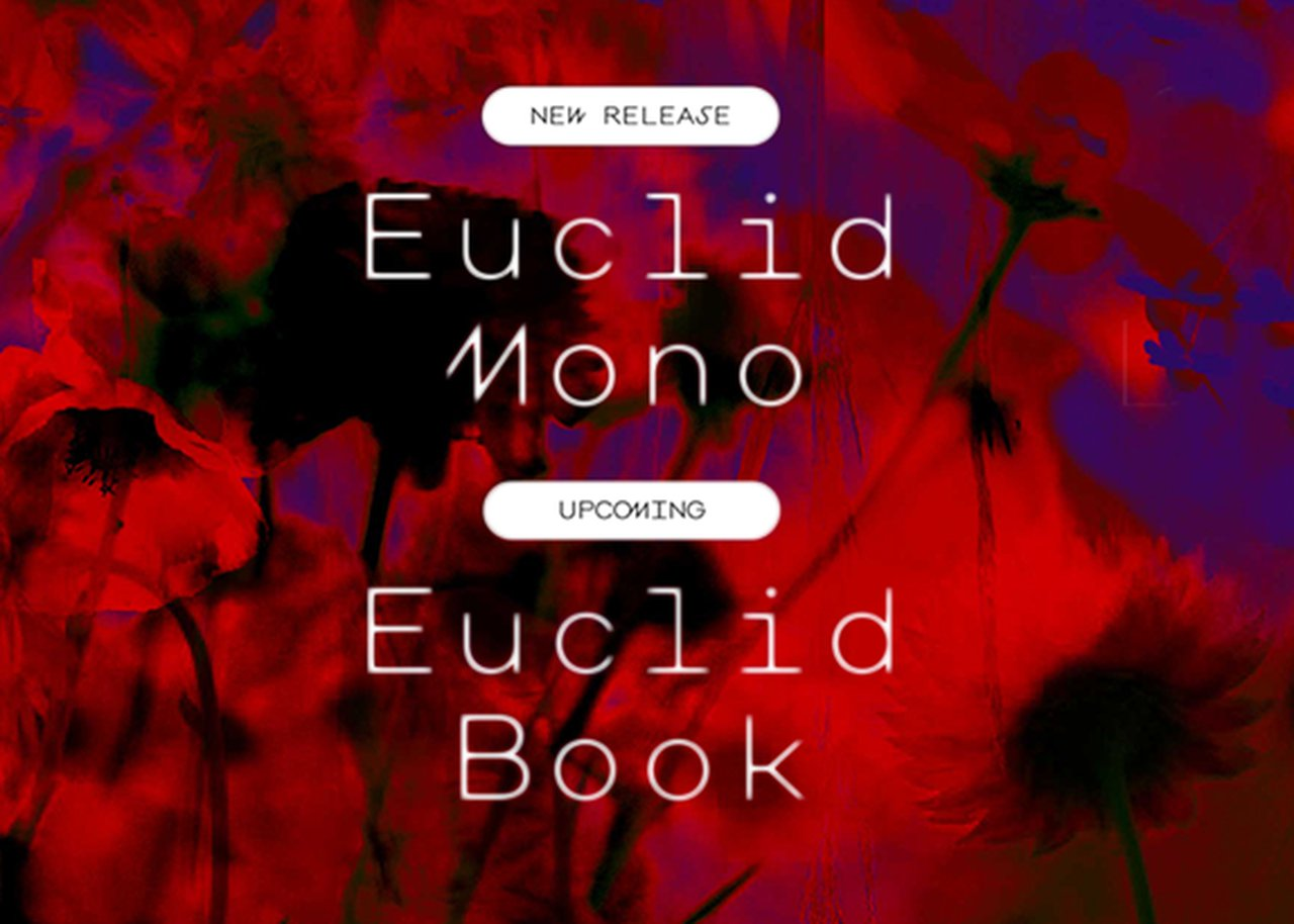 Euclid book by Hubertus and LAB font Euclid Mono
